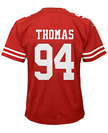 Nike Solomon Thomas San Francisco 49ers Game Jersey, Big Boys (8-20)
