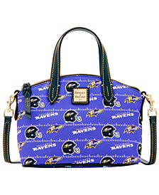 Dooney & Bourke Baltimore Ravens Nylon Mini Crossbody Satchel