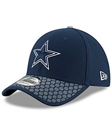New Era Boys' Dallas Cowboys 2017 Official Sideline 39THIRTY Cap