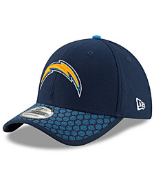 New Era Boys' Los Angeles Chargers 2017 Official Sideline 39THIRTY Cap