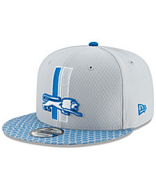 New Era Boys' Detroit Lions 2017 Official Sideline 9FIFTY Snapback Cap