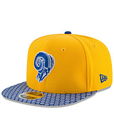 New Era Boys' Los Angeles Rams 2017 Official Sideline 9FIFTY Snapback Cap