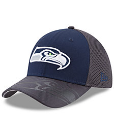 New Era Seattle Seahawks Visor Hit 39THIRTY Cap