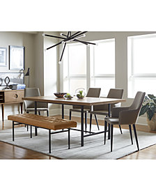 CLOSEOUT! Selena Dining Furniture Collection, Created for Macy's