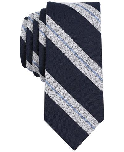 Bar III Men's Munder Stripe Skinny Tie, Created for Macy's