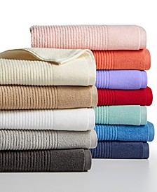 Quick Dry Reversible Towel Collection, 100% Cotton, Created for Macy's