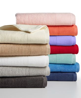 Martha Stewart Collection Quick Dry Reversible Bath Towel Created for Macys Bedding