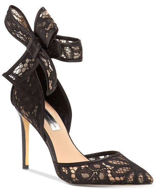 6b4ce1c2b5 ... INC International Concepts I.N.C. Kaiaa Bow Evening Pumps, Created for  Macy's ...