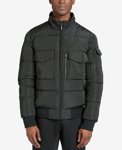 DKNY Men's Quilted Bomber Jacket - Coats & Jackets - Men - Macy's : mens quilted bomber jacket - Adamdwight.com