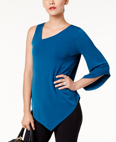 Alfani One-Shoulder Top, Created for Macy's