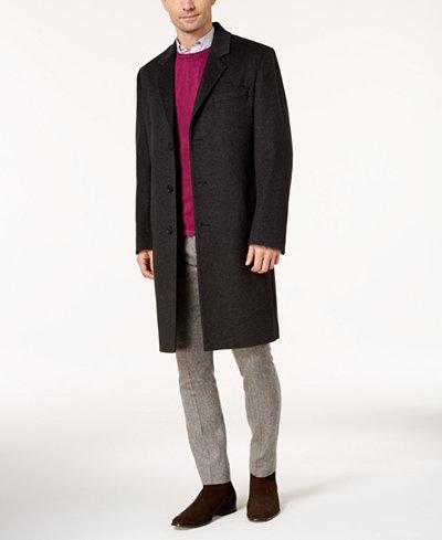 Michael Kors Men's Madison Cashmere-Blend Overcoat