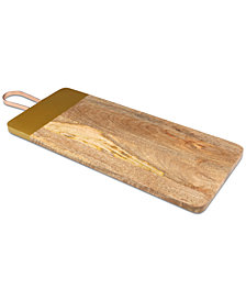 CLOSEOUT! Thirstystone Wood Board with Copper Finish Handle