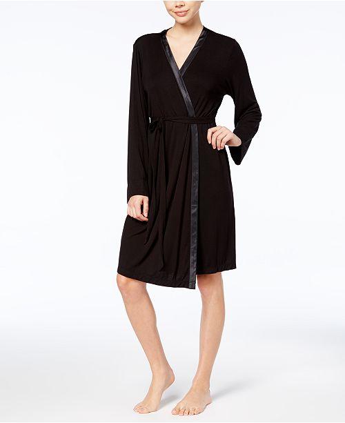 Alfani Essentials Knit Robe, Created for Macy's