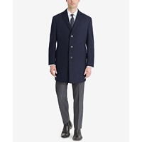 Deals on Calvin Klein Mens Prosper X-Fit Overcoat