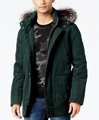 Michael Kors Men's Polar Parka - Coats & Jackets - Men - Macy's