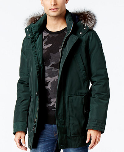 Michael Kors Men's Polar Parka - Coats & Jackets - Men - Macy's