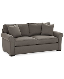 "CLOSEOUT! Astra 66"" Fabric Loveseat, Created for Macy's"