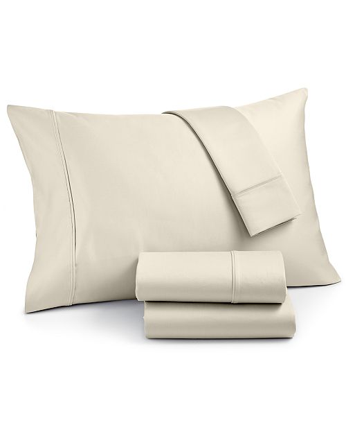 AQ Textiles CLOSEOUT! Landry 4-Pc. Queen Sheet Set, 1200 Thread Count Combed Cotton