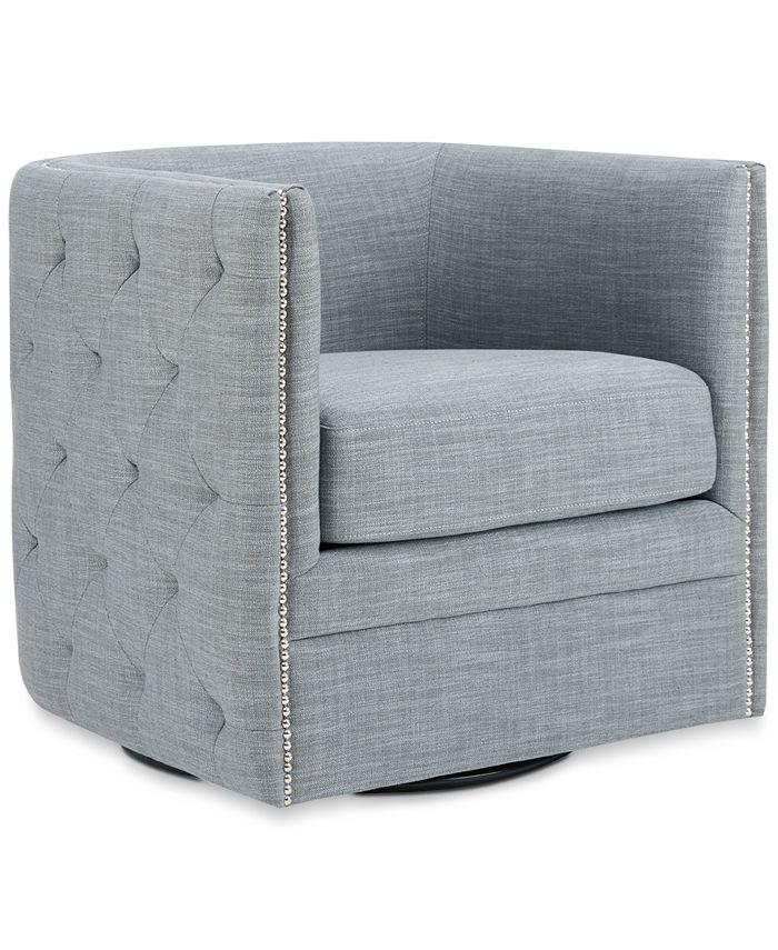 Furniture - Capstone Swivel Chair, Quick Ship
