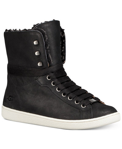 UGG® Starlyn High-Top Lace-Up Sneaker