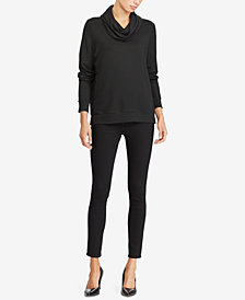 Lauren Ralph Lauren Relaxed-Fit Funnel-Neck Top