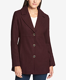 Tommy Hilfiger Single-Breasted Peacoat