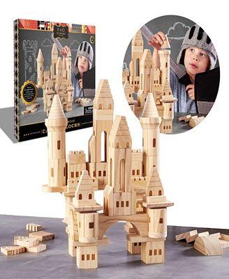 Fao Schwarz Wood Castle Blocks All Toys Games Kids Macy S