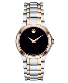 Women's Swiss Two-Tone Stainless Steel Bracelet Watch 28mm, Created for Macy's