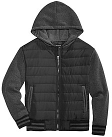 Camden Hooded Full-Zip Jacket, Big Boys, Created for Macy's