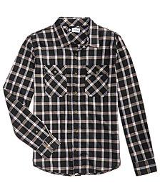 LRG Men's Outdoorsman Plaid Shirt