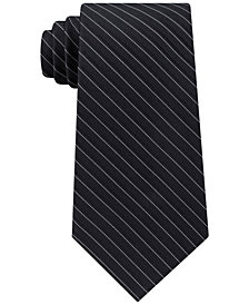 Michael Kors Men's Stripe Silk Tie