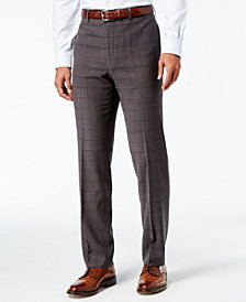 Lauren Ralph Lauren Men's Classic-Fit Ultraflex Windowpane Dress Pants