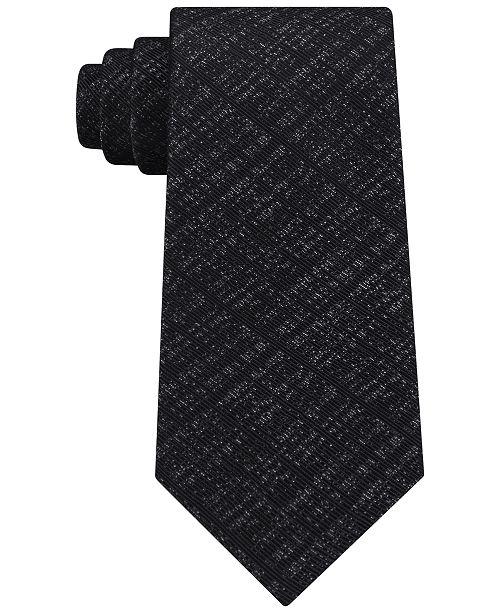 Calvin Klein Men's Static Allover Silk Tie
