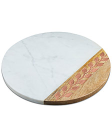 CLOSEOUT! Thirstystone Marble & Wood Board
