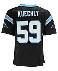 Nike Luke Kuechly Carolina Panthers Game Jersey, Little Boys (4-7)