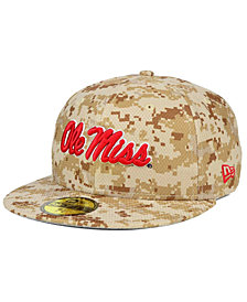 New Era Ole Miss Rebels AC 59FIFTY Fitted Cap