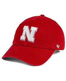 '47 Brand Nebraska Cornhuskers CLEAN UP Cap
