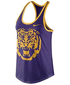 Nike Women's LSU Tigers Dri-Blend Tank