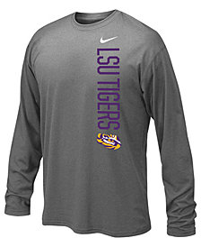 Nike LSU Tigers Vertical Mascot Legend Long Sleeve T-Shirt, Big Boys (8-20)