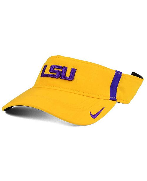 72d9420d1373d Nike. LSU Tigers Sideline Aero Visor. Be the first to Write a Review. main  image ...