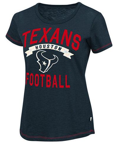 Touch By Alyssa Women's Milano Houston Texans MVP T-Shirt