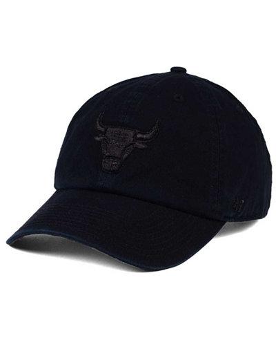 '47 Brand Chicago Bulls Straight Metallic CLEAN UP Cap