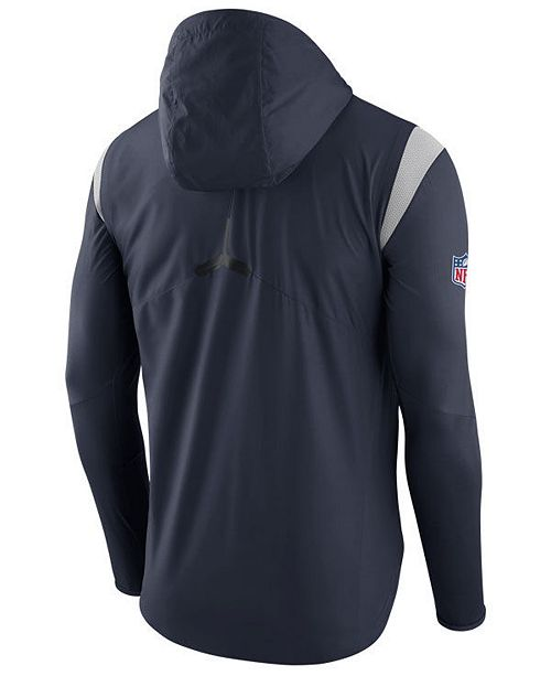 9df55c77 Nike Men's Chicago Bears Lightweight Fly Rush Jacket & Reviews ...