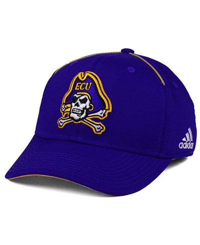 adidas East Carolina Pirates Coaches Flex Cap