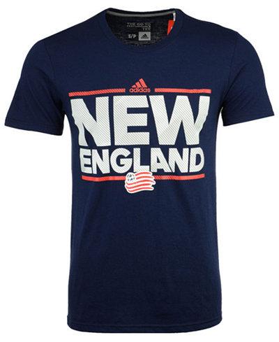 adidas Men's New England Revolution City Name Performance T-Shirt