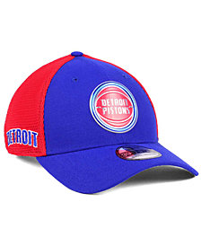 New Era Detroit Pistons On Court 39THIRTY Cap