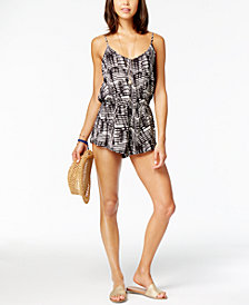 Dolce Vita Ikat Romper Cover-Up
