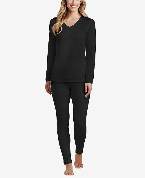Cuddl Duds Softwear Lace Top & Softwear Lace Legging
