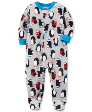 Carters PenguinPrint Footed Pajamas Baby Boys (024 months)