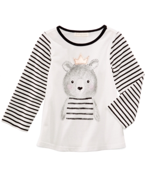 First Impressions GraphicPrint TShirt Baby Girls (024 months) Created for Macys